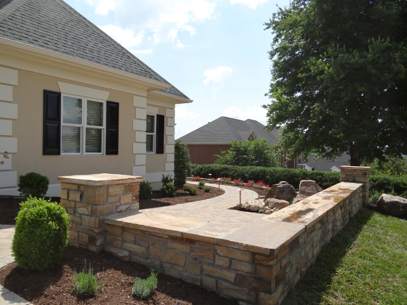 Lankford Residence Hardscaping