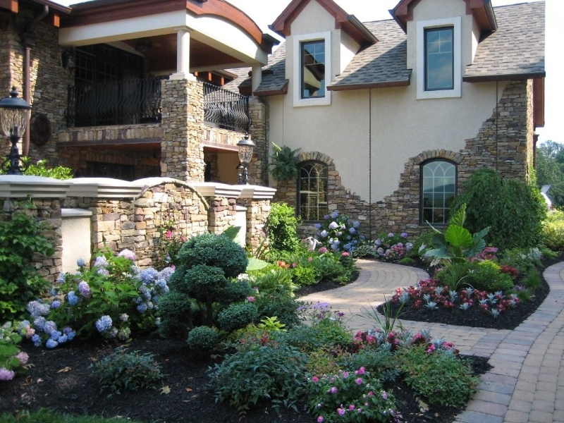 Flowering Landscape Design