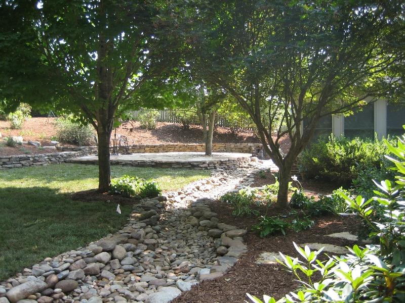 Dry Creek/Drainage Landscape